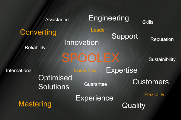 Spoolex converting equipment and components advantages