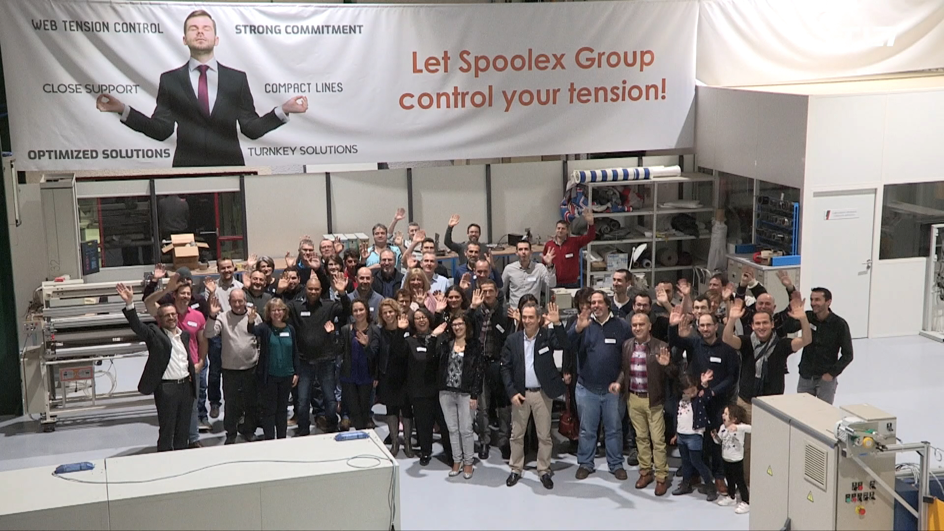 L'équipe Spoolex Group