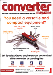 Spoolex Group Front Cover of Converter June 2018