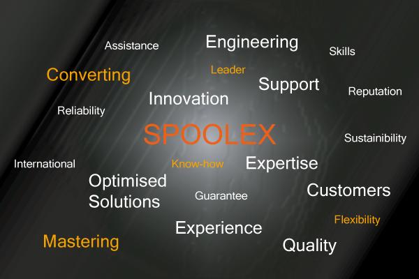 Spoolex converting equipment and components advantages