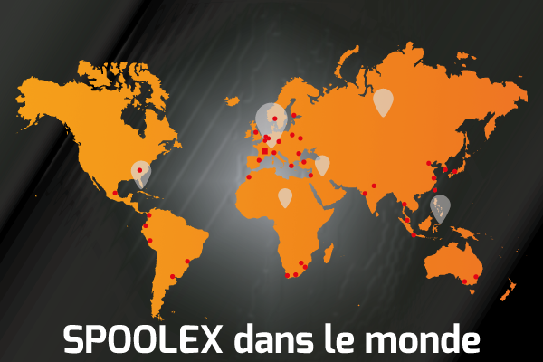 Spoolex est présent dans le monde entier